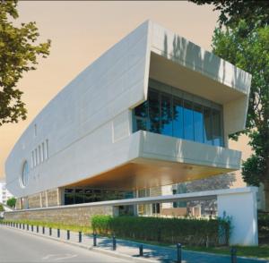 Espace Aimé Césaire – extérieurs. © Agence Lelli ArchitecteS