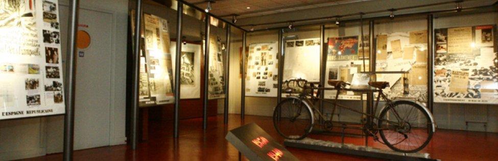 Musée de la Résistance nationale – salles d'exposition. © MRN-R. Noury