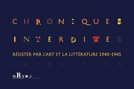 Chroniques interdites : résister par l'art et la littérature. © O. Umecker