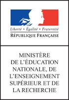 Logo Ministère de l'Éducation nationale.