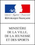 Logo Ministère de la Ville, de la jeunesse et des sports