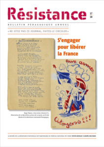 Couverture Résistance dossier pédagogique MRN 2017-2018