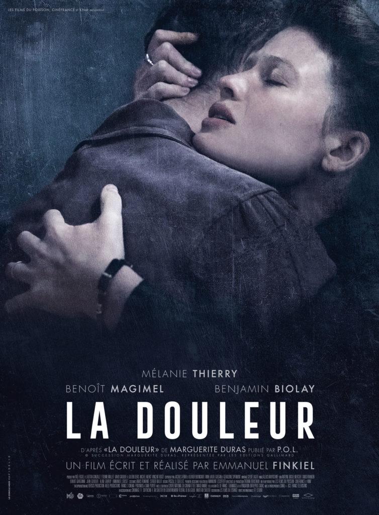 Affiche du film La douleur d'Emmanuel Finkiel, 2018.