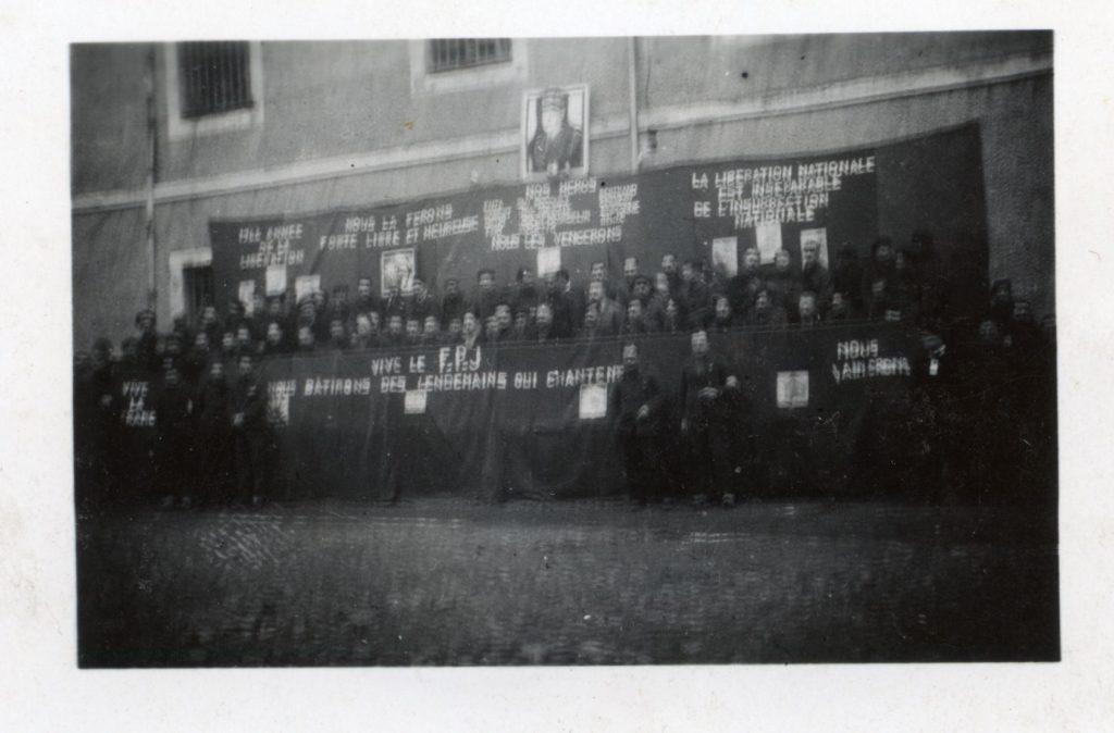 Fête de la Jeuneese à Eysses; 16 janvie1944
