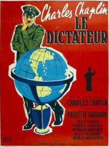 Affiche Le Dictateur Chaplin