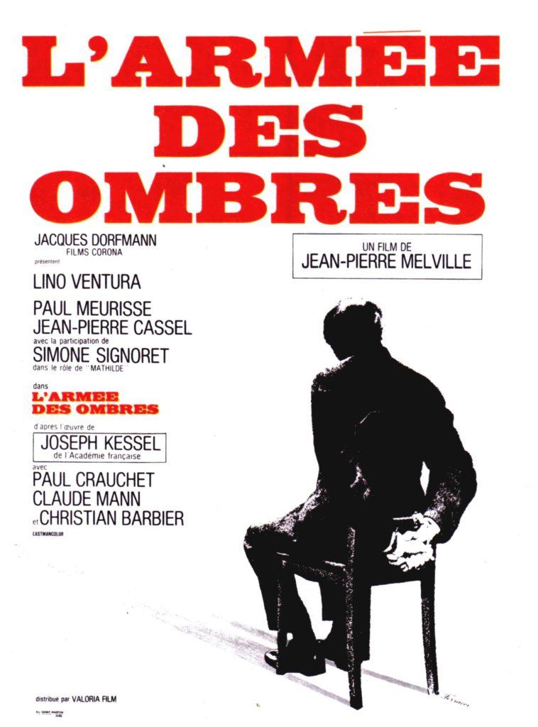 Affiche Armée des ombres, 1969