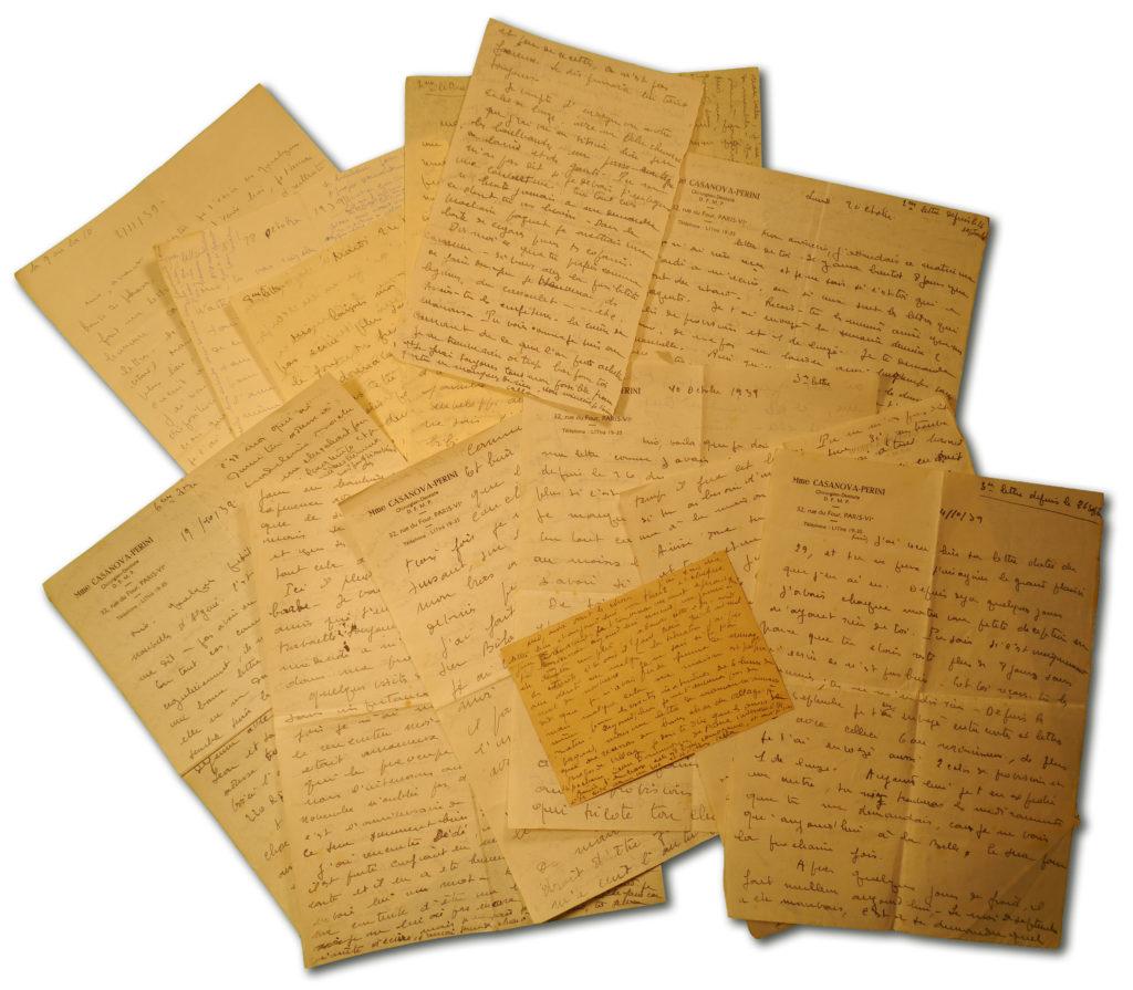Lettres de Danielle à Laurent Casanova, septembre-novembre 1939.