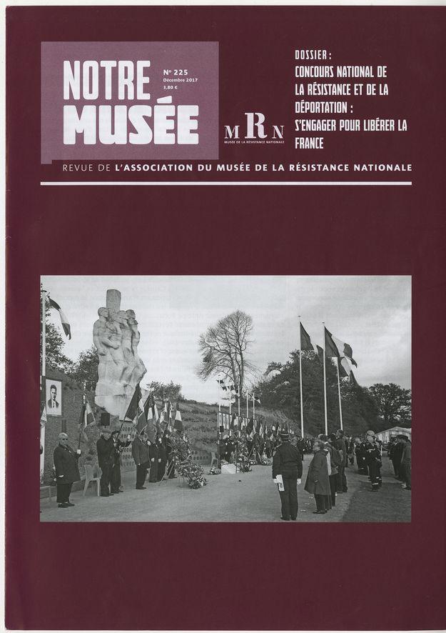 Noter musée numéro 225 : couverture