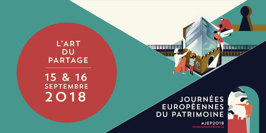 Vignette Journées européennes du patrimoine JEP2018