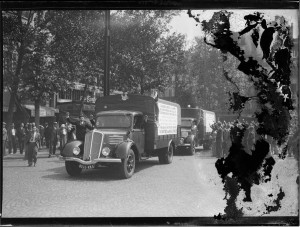 Aide à l'Espagne républicaine, août 1936. Coll. MRN –  fonds dit du Matin.